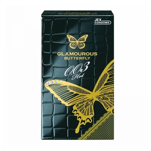 Bao cao su siêu mỏng Jex Glamcurous Butterfly hot 003-hộp 10c